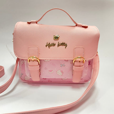 Hello Kitty Pink Letter Shoulder Bag