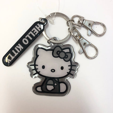 Hello Kitty Silhouette Key Ring