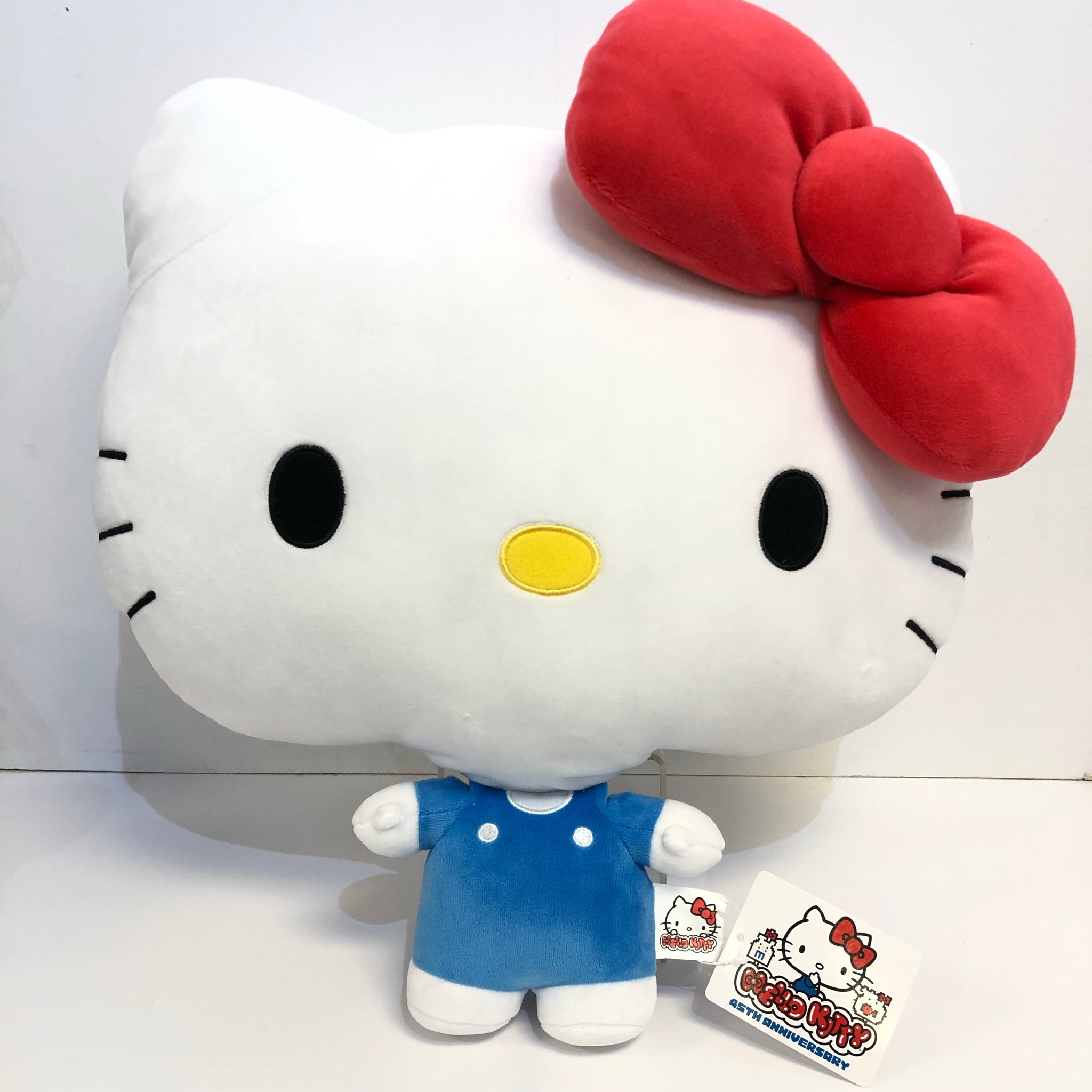 Hello Kitty Big Face 45th Anniversary Plush