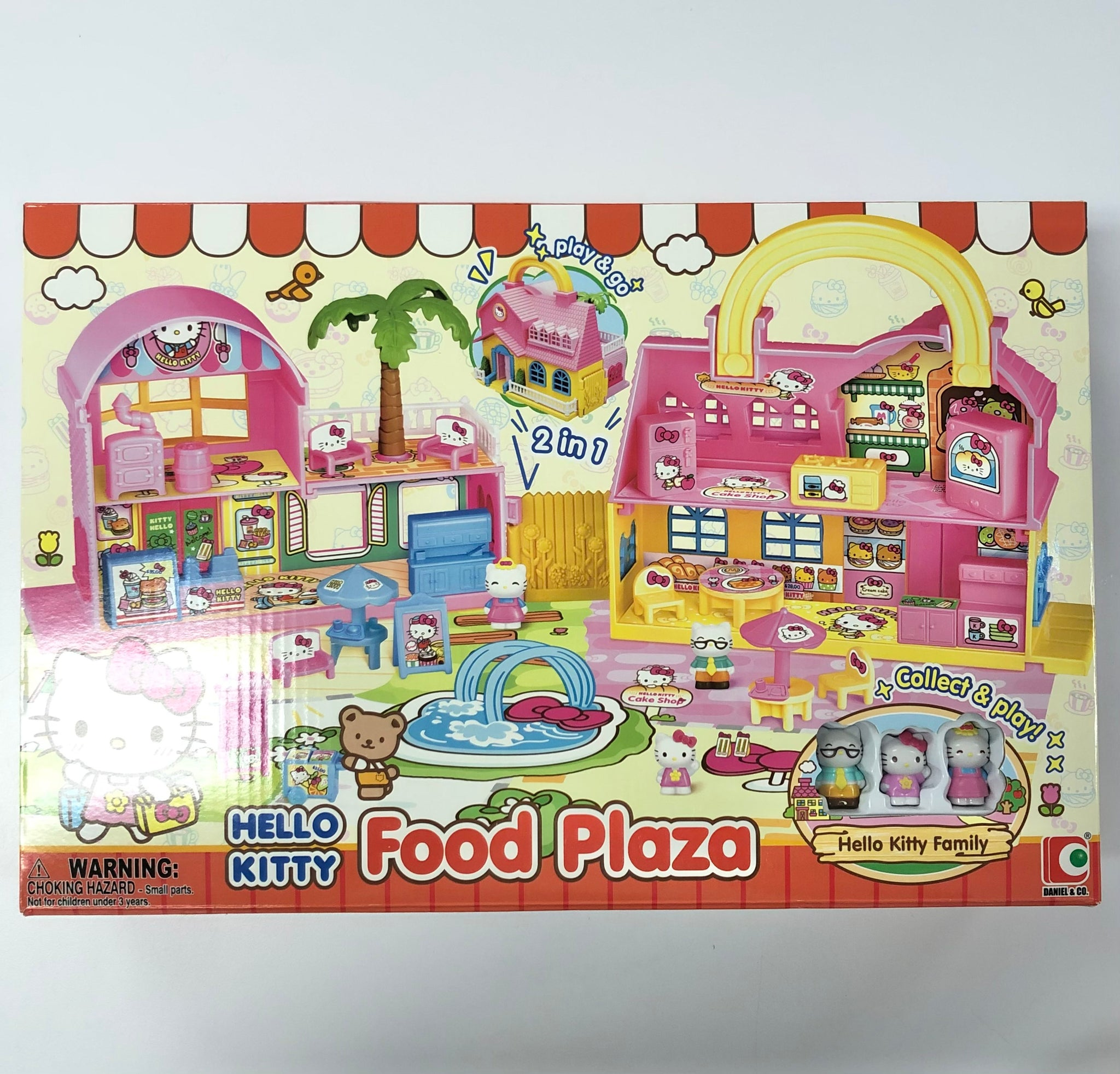 Hello Kitty Food Plaza Toy Set