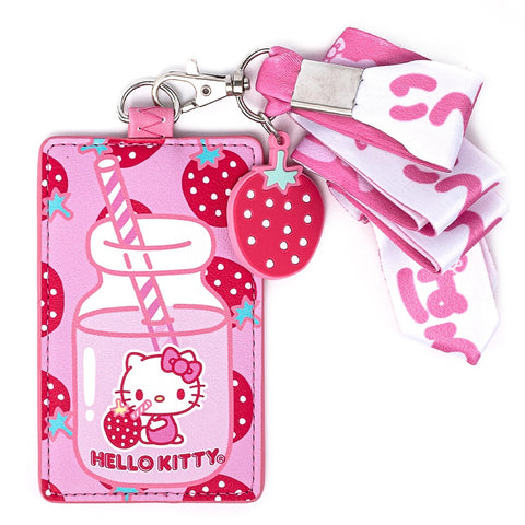 Hello Kitty Strawberry Lanyard by Loungefly