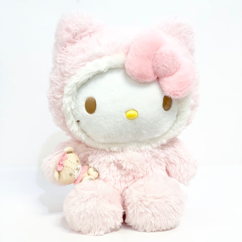 Hello Kitty Pink Furry Plush