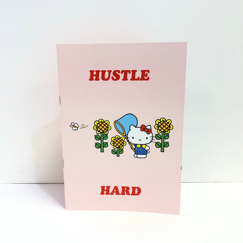 Hello Kitty x Jolly Awesome Hustle Hard Notepad