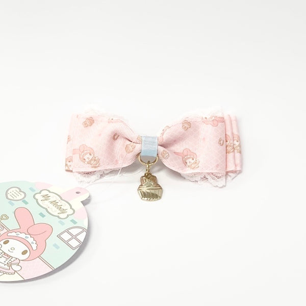 My Melody Cafe Bow Hair Clip