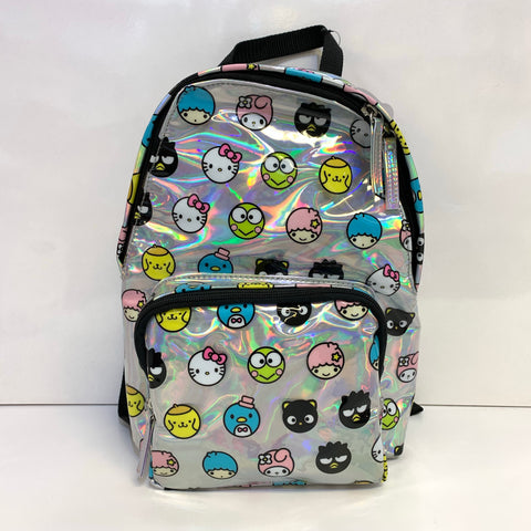 Hello Sanrio Holographic Backpack by Loungefly