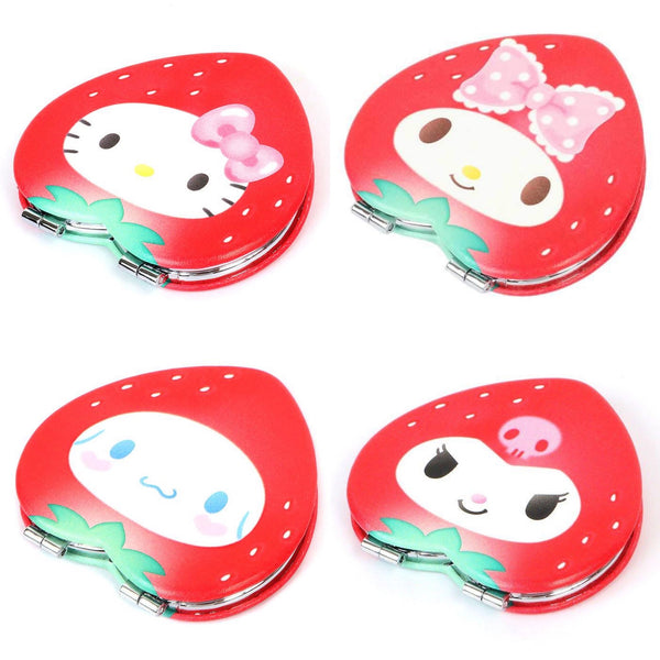 Sanrio Characters Strawberry Compact Mirror