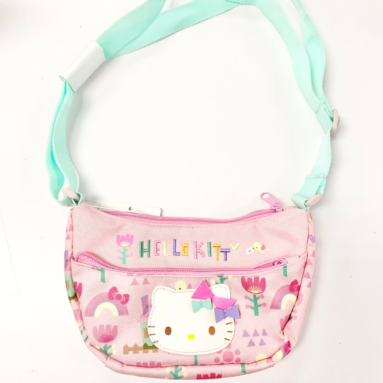 Hello Kitty Sweet Collage Shoulder Pouch