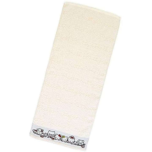 Hello Kitty Family Hand Towel