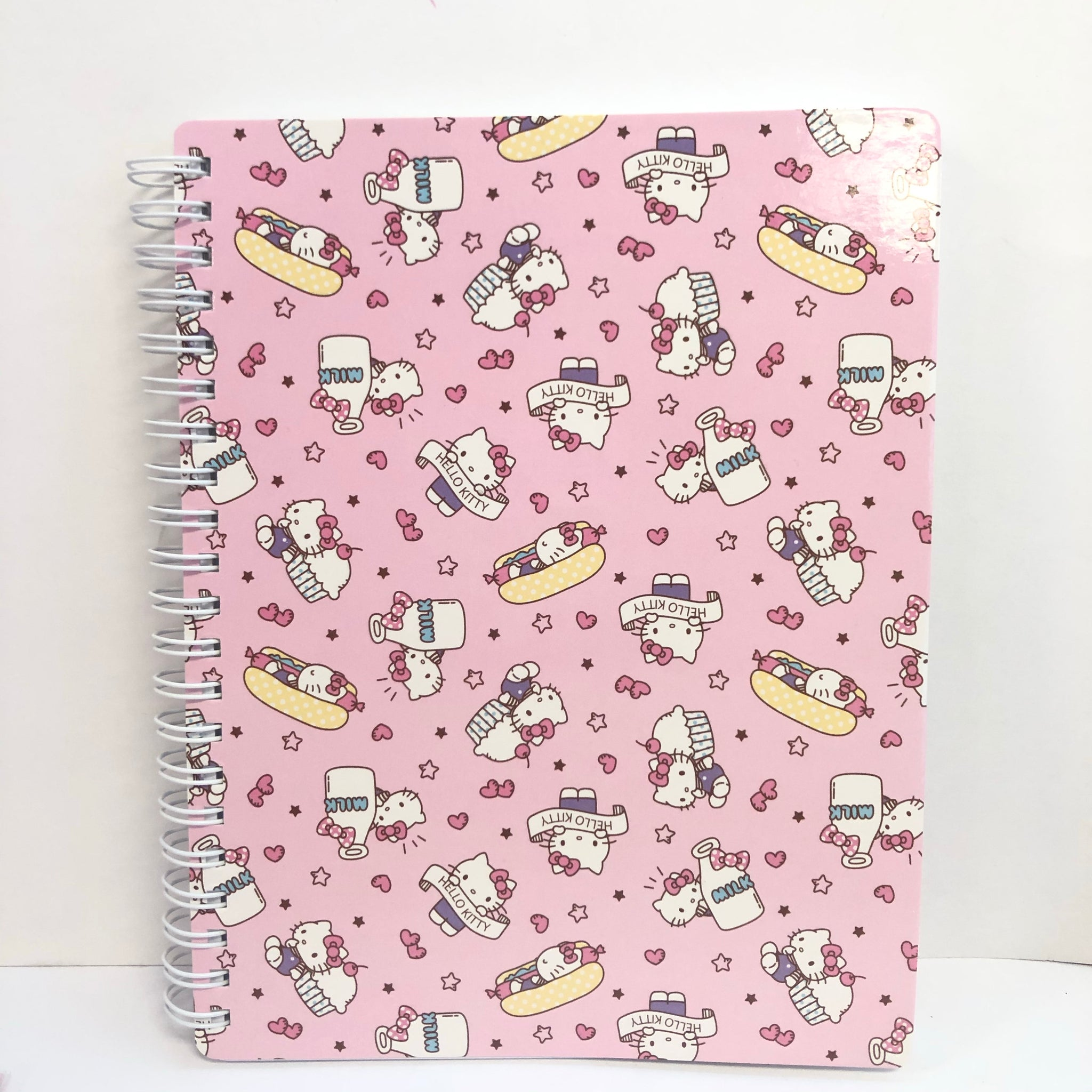 Hello Kitty Cupcake A5 Spiral Notebook