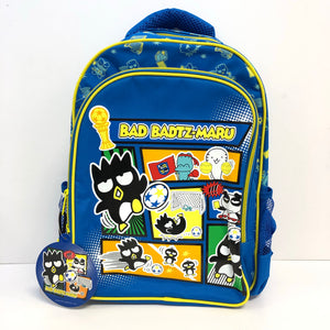 "Badtz Maru Football 14"" Backpack"
