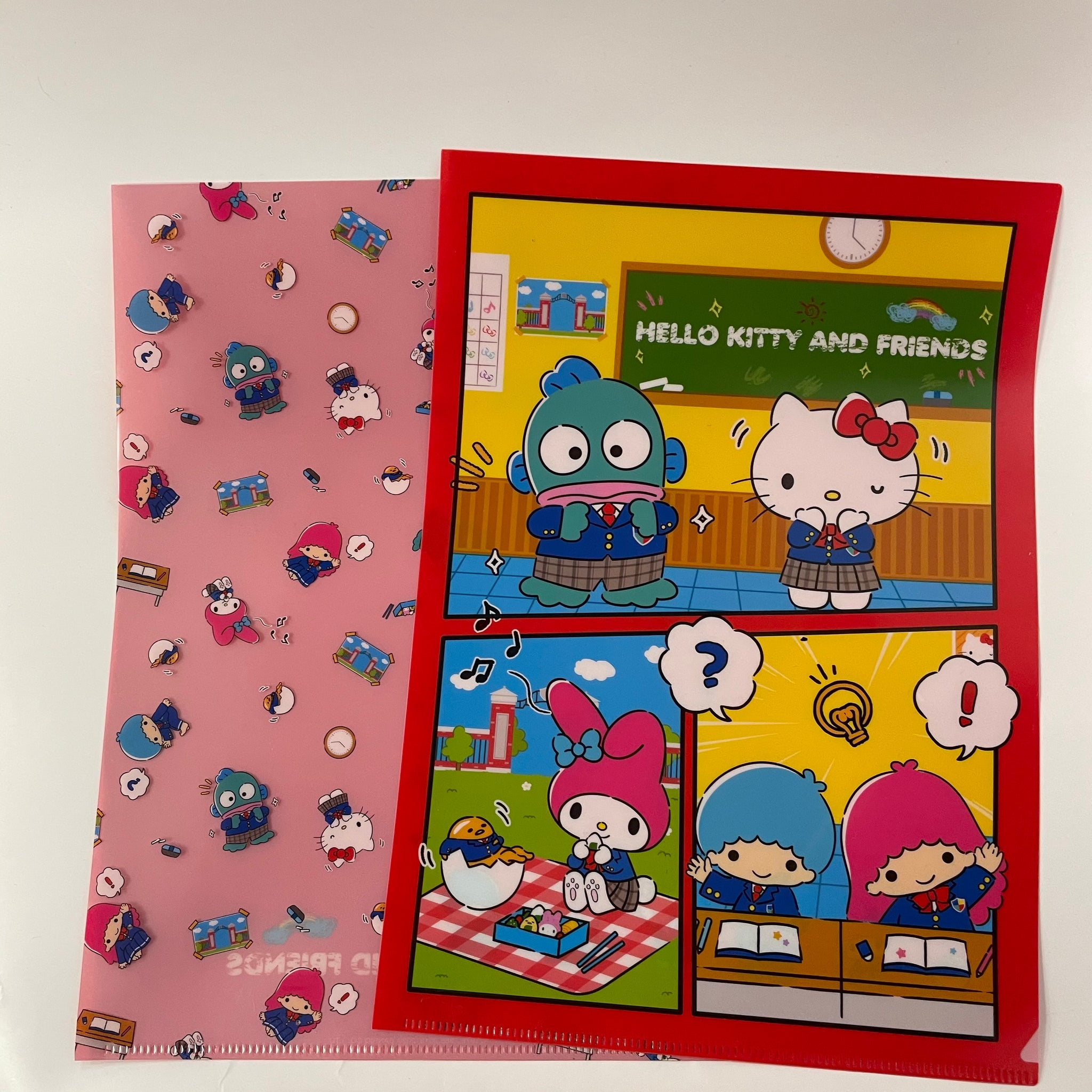 Sanrio Characters School Classroom File Folder Set