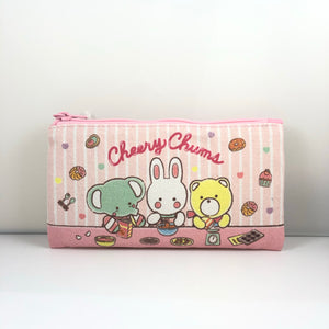 Cheery Chums Canvas Pouch