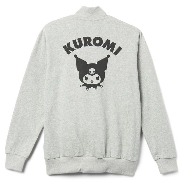 Kuromi Gray and Black French Terry Jacket