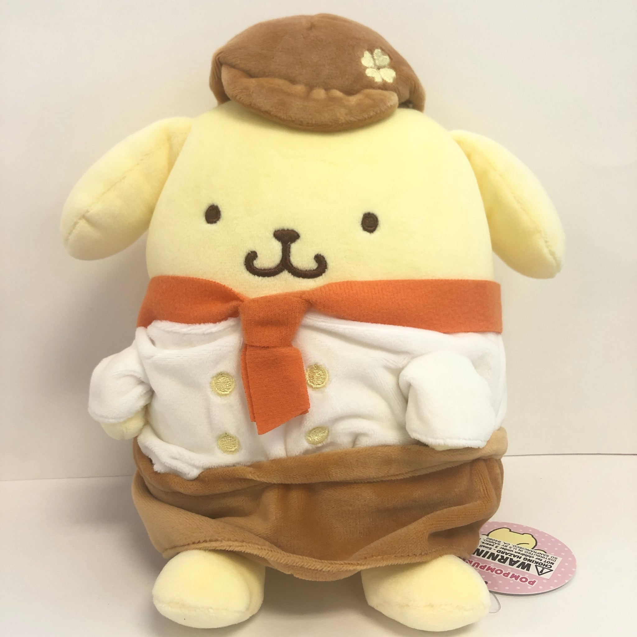 Pompompurin Chef Plush