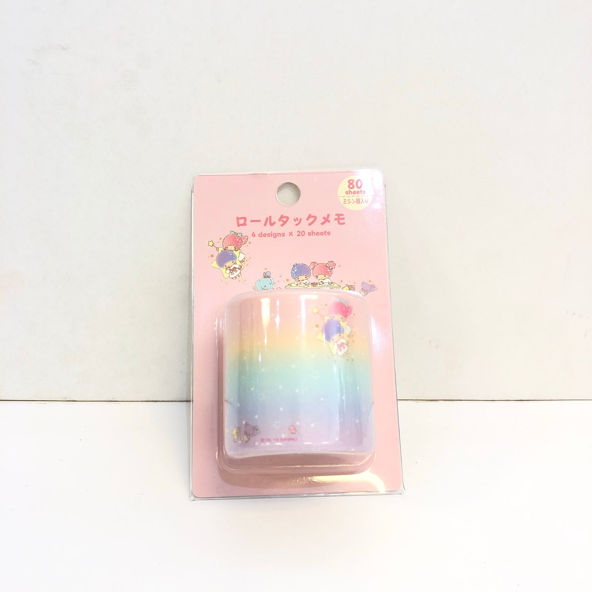 Little Twin Stars Rolled Sticky Notes