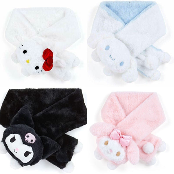 Sanrio Characters Furry Mascot Scarf