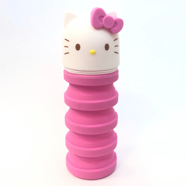 Hello Kitty Silicone Collapsible Pouch