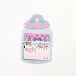 Little Twin Stars Candy Jar Sticky Notes