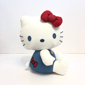 "Hello Kitty 10"" Denim Plush"