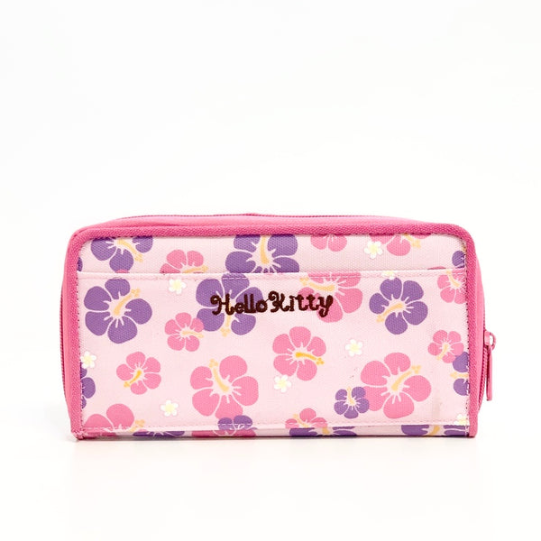Hello Kitty Hibiscus Long Wallet