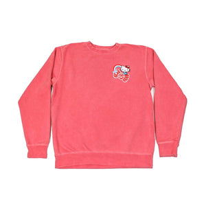 Hello Kitty Friends Around the World Red Crewneck