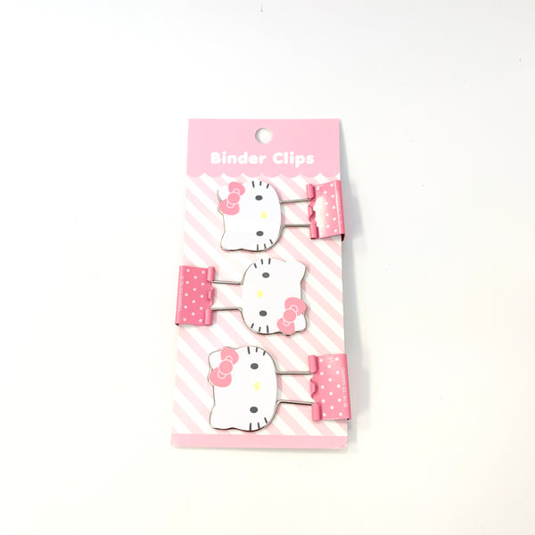 Sanrio Characters Binder Clips