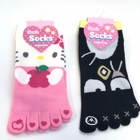 Sanrio Characters Adult Toe Socks