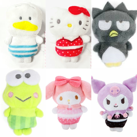 Sanrio Characters Summer Mini Plush