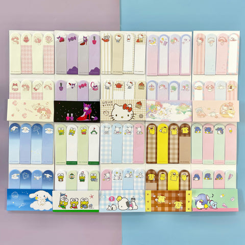 Sanrio Characters Sticky Memo Tabs