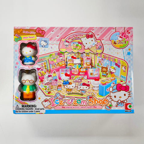 Hello Kitty Ice Cream Shop Toy Set
