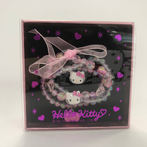 Hello Kitty Kids Jewelry Set Pink Bow