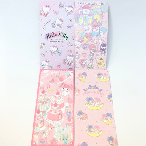 Sanrio Characters Long Money Enclosure