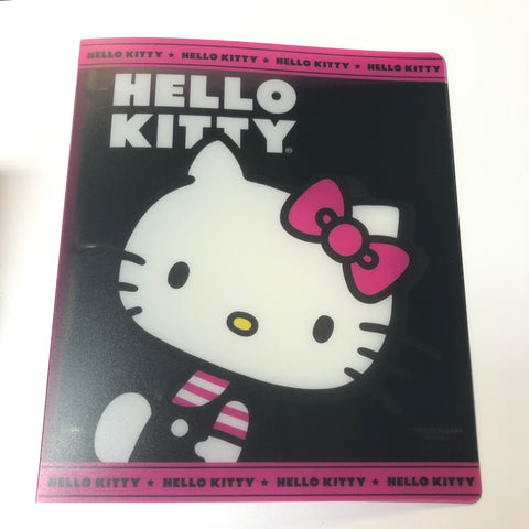 "Hello Kitty Charming Pink 1"" Binder"