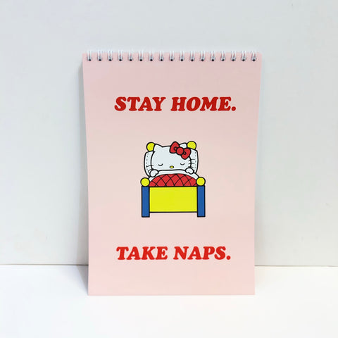 Hello Kitty x Jolly Awesome Stay Home Spiral Notebook