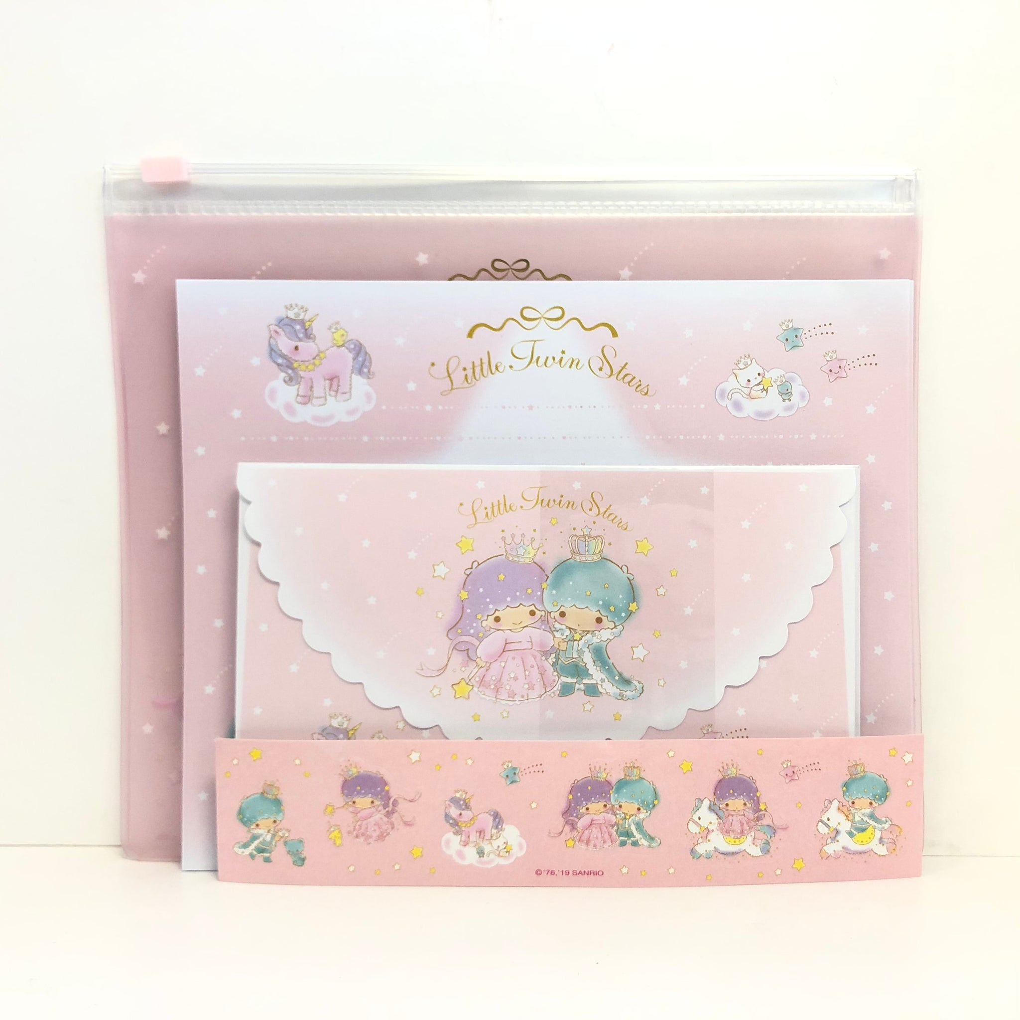 Little Twin Stars Letter Set