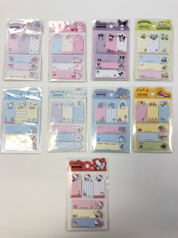 Sanrio Characters Sticky Tabs