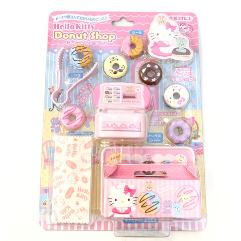 Hello Kitty Donut Shop Toy Set