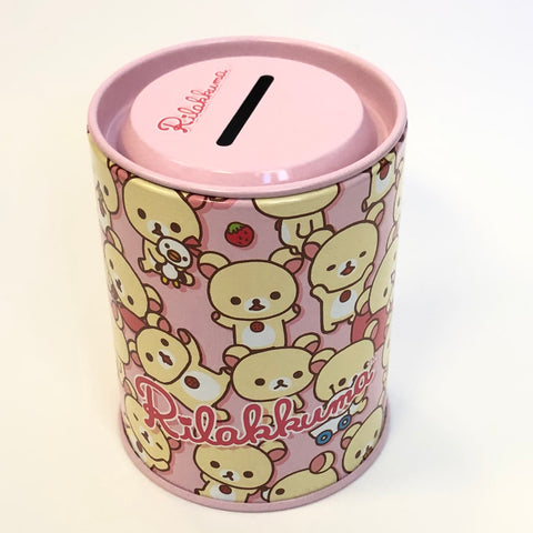Rilakkuma Pink Mini Coin bank