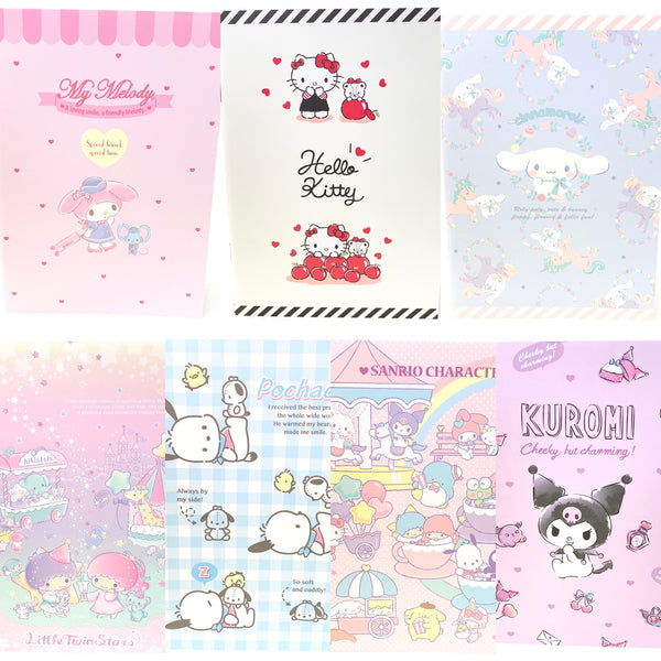 Sanrio Characters A5 Notebook