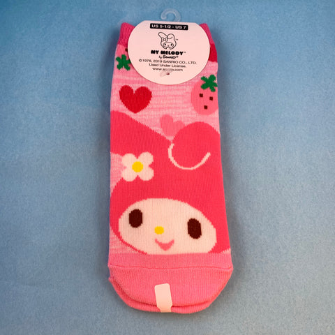 My Melody Strawberry Socks