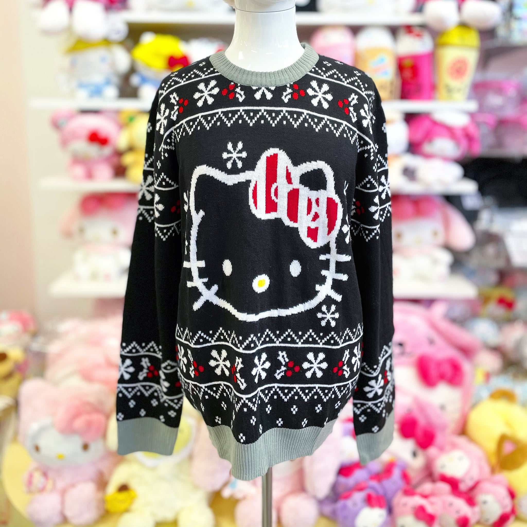 Hello Kitty Knit Christmas Sweater