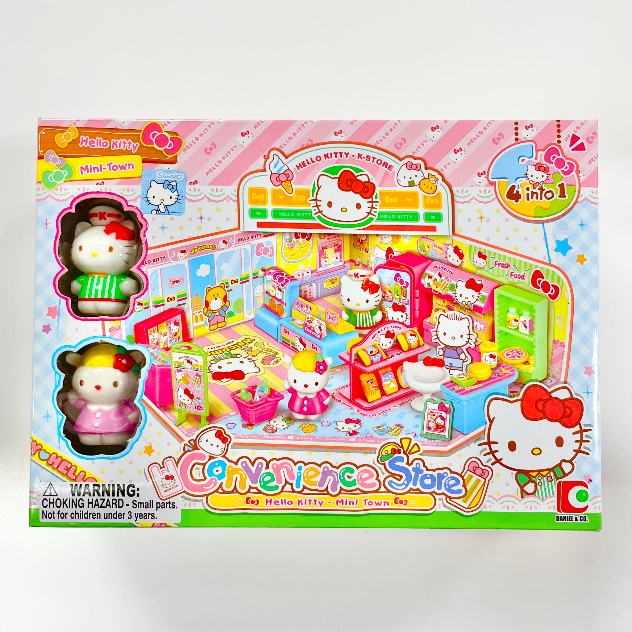 Hello Kitty Convenience Store Toy Set