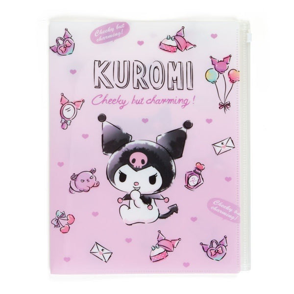 Kuromi File Folder w/ Fastener