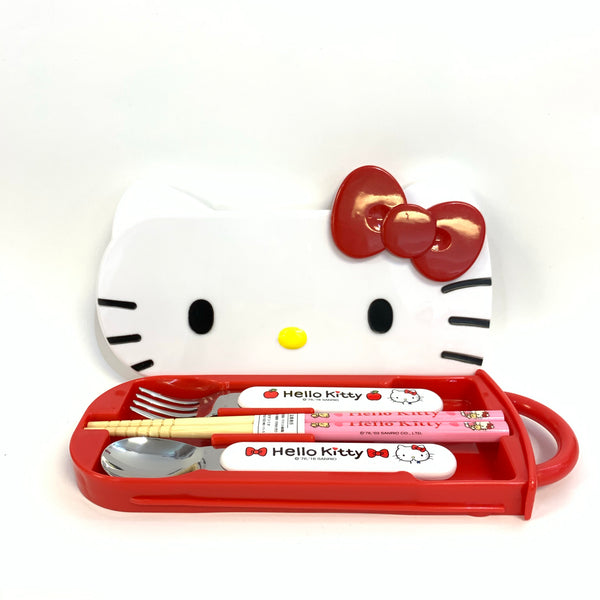 Hello Kitty Face Lunch Trio