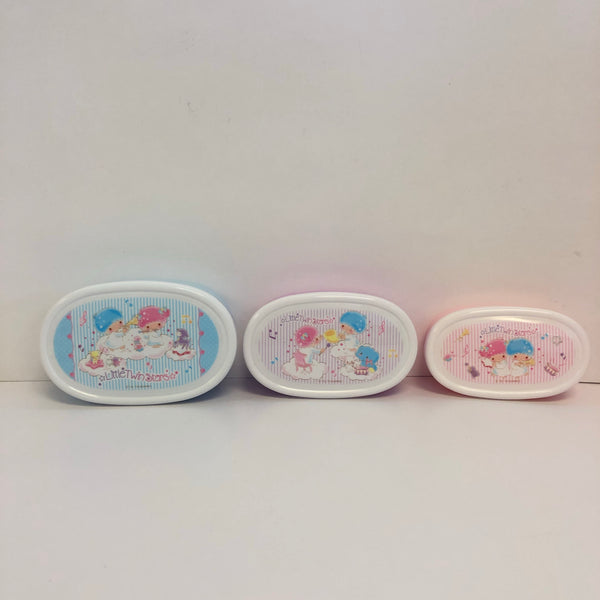 Little Twin Stars Stripes 3 Piece Lunch Container