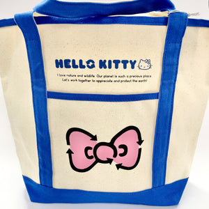 Hello Kitty Eco Collection Blue Tote Bag