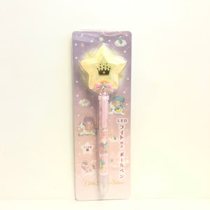 Little Twin Stars Crown Light Up Star Pen