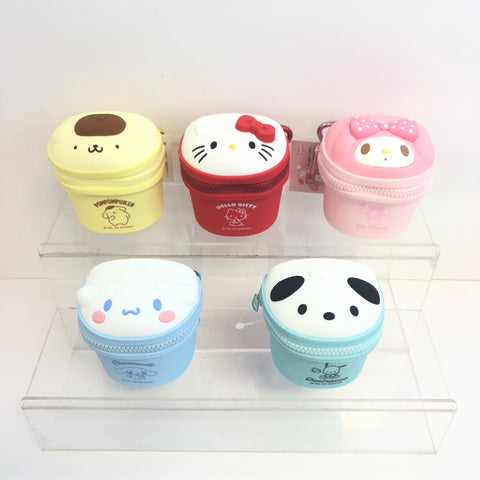 Sanrio Characters Mini Dust Box Key Chain