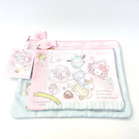 Sanrio Characters Cat Pouch Set