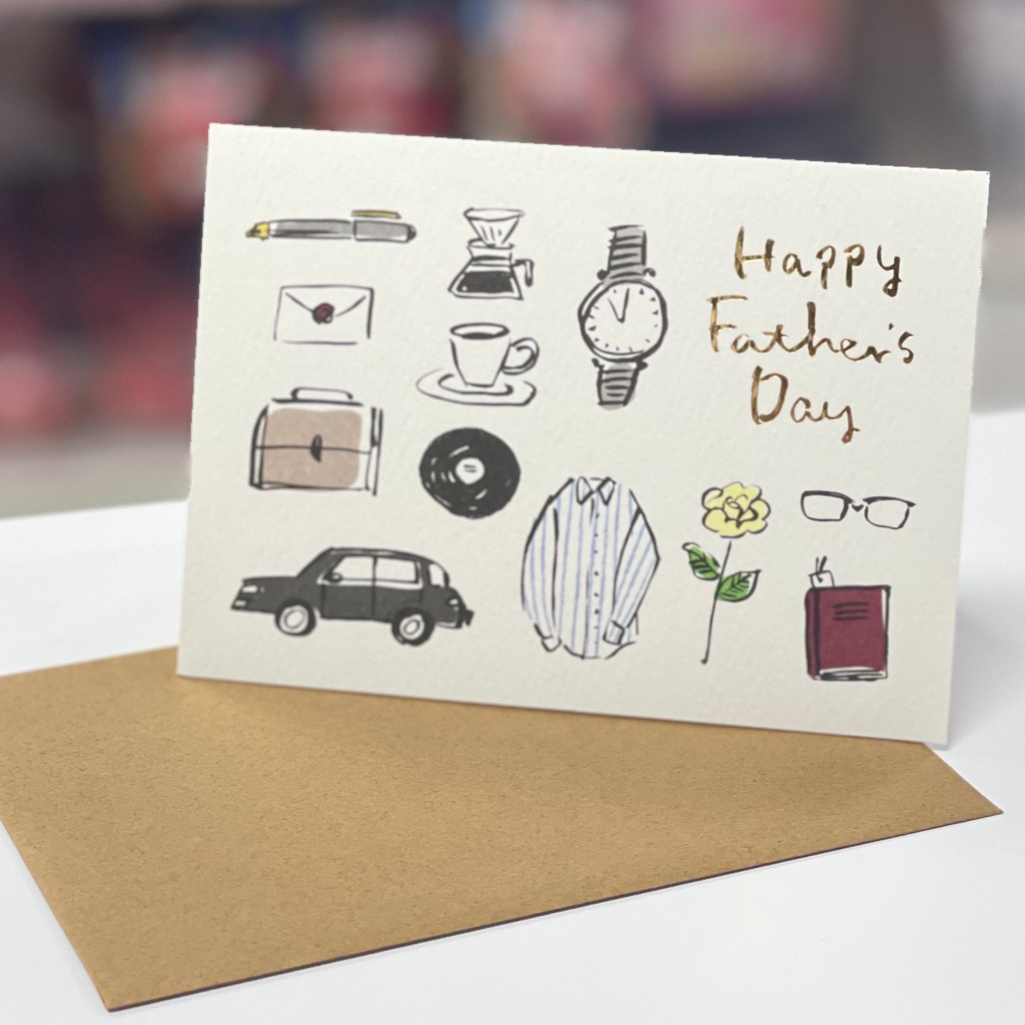 Sanrio Father's Day Greeting Card